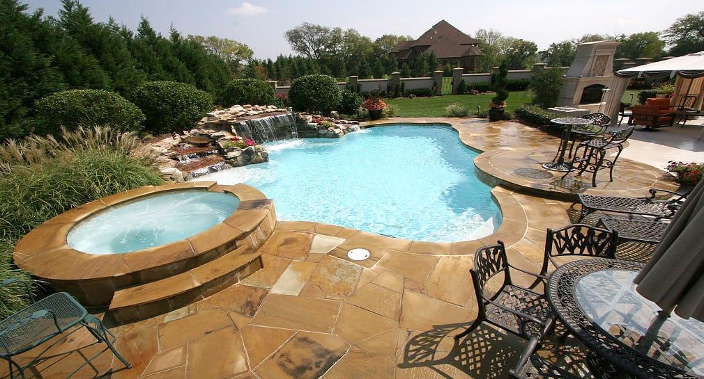 Custom Pool Gallery Freeform Pools And Spas By Peek Pools And Spas Nashville Tennessee