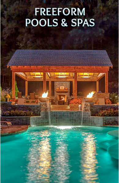 Nashville Custom Pool Design Outdoor Kitchens Pool Kings Peek Pools And Spas