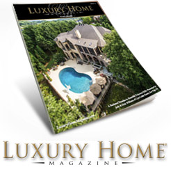 Peek Pools featured in Luxury Home Magazine