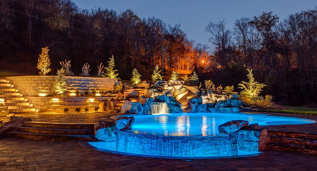 Nashville Custom Pool Design Outdoor Kitchens Pool