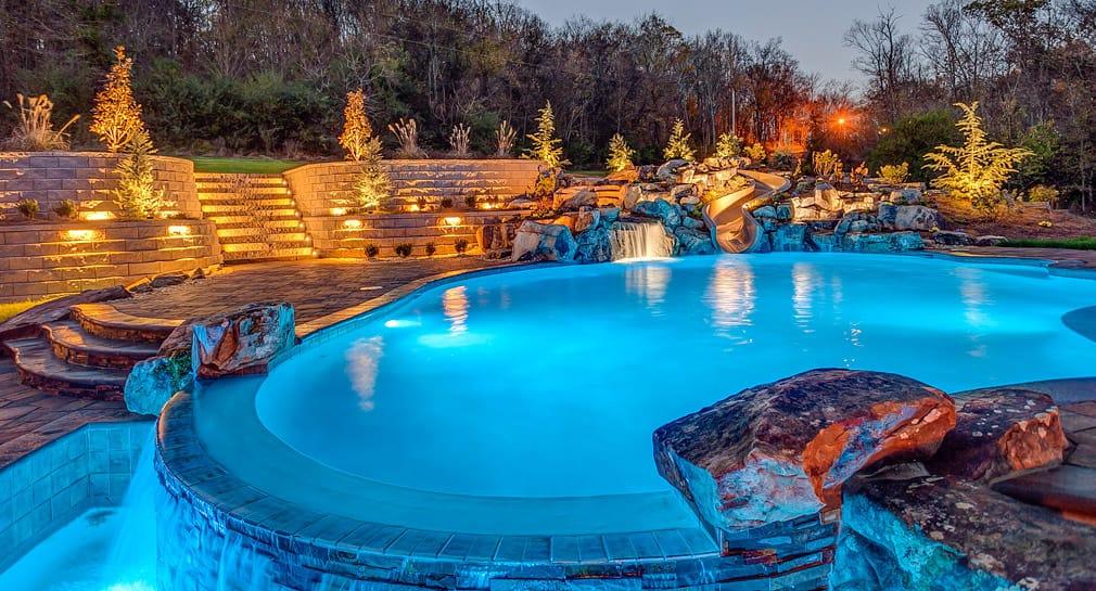 Nashville Custom Pool Design Outdoor Kitchens Pool