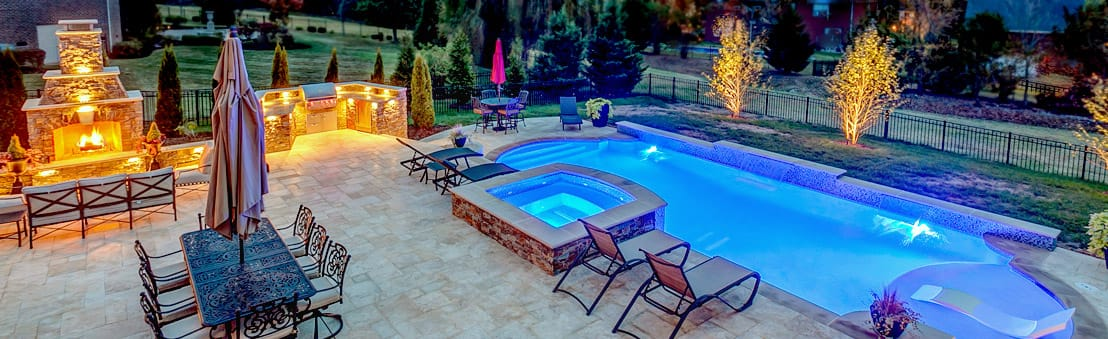Custom Swimming Pool Design By Peek Pools And Spas In And