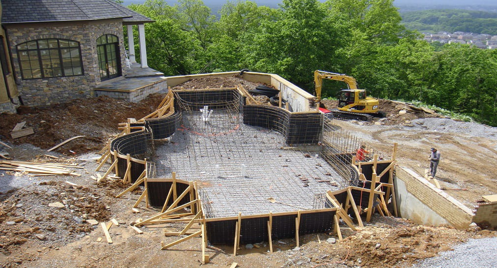 Custom Pool Construction By Peek Pools And Spas Custom